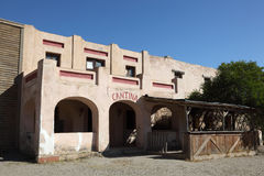Cantina in un villaggio messicano Immagine Stock Libera da Diritti