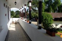Cantina in Urlati, paese di vino in Valea Calugareasca Immagini Stock Libere da Diritti