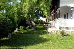 Cantina in Urlati, paese di vino in Valea Calugareasca 4 Fotografia Stock