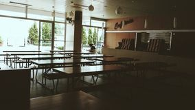 Cantine scolaire Photos stock