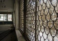 Cantine soviétique abandonnée photographie stock