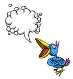 Canto bird-100 Immagini Stock