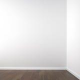 Canto branco vazio Imagem de Stock