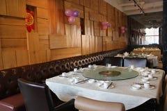 Canto chinês do restaurante fotografia de stock
