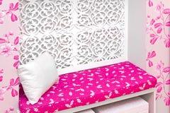 Canto cor-de-rosa Fotos de Stock Royalty Free