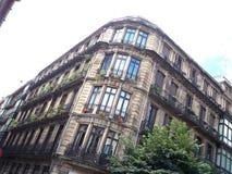 Canto da construção da Espanha de Bilbao imagem de stock