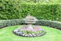Canto da flor no parque Foto de Stock