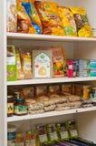 Canto da loja com bio produtos Fotos de Stock