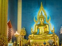 Canto da noite no templo de mármore Imagens de Stock Royalty Free