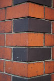 Canto da parede de Brich Fotografia de Stock