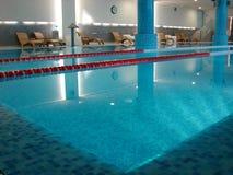 Canto da piscina Fotografia de Stock