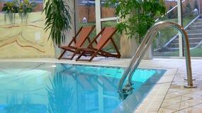 Canto da piscina Foto de Stock