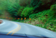 Canto de alta velocidade Imagens de Stock Royalty Free
