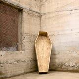 Canto de caixão Fotografia de Stock