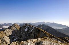 Canto de la montaña Foto de archivo