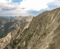 Canto de la montaña Fotos de archivo