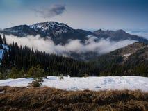 Canto de la montaña foto de archivo libre de regalías