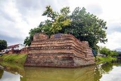 Canto de Phum do si a parede antiga em Chiang Mai Imagem de Stock