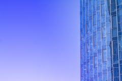 Canto de um edifício moderno Imagens de Stock