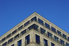 Canto de um edifício moderno Fotos de Stock Royalty Free