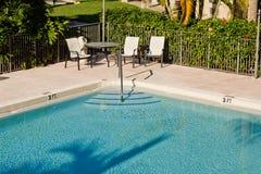 Canto de uma piscina Foto de Stock