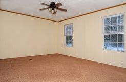 Canto de uma sala vazia Fotografia de Stock