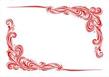 Ornamento decorativo 004 Imagens de Stock Royalty Free