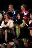 Canto del coro Fotografie Stock