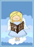 Canto do anjo Imagem de Stock