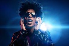Canto do DJ Imagens de Stock Royalty Free
