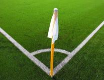 Canto do futebol Foto de Stock Royalty Free