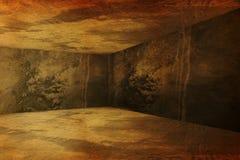 Canto do interior sujo velho Fotos de Stock
