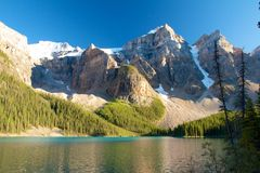 Canto do lago moraine Fotos de Stock