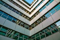 Canto do prédio de escritórios Imagem de Stock