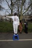 Canto do ` s do orador em Hyde Park, Londres Imagens de Stock