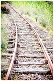 Canto do trilho da curva com escalada Fotografia de Stock Royalty Free