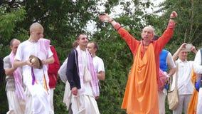 Canto e dança da lebre Krishnas filme