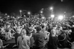 Canto en el medio Fotografía de archivo libre de regalías