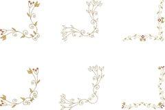 Canto floral Fotografia de Stock