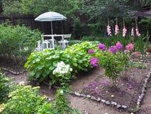 Canto home do jardim Imagens de Stock Royalty Free