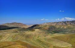 Canto kirguizio de la montaña Foto de archivo