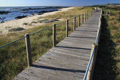 Canto Marinho beach. Nominated in 2012 for one of the wonders of Portugal in the category of Wild Beach Stock Images