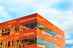 Canto moderno do edifício Imagens de Stock