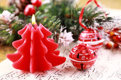 Canto natalizio di natale Fotografia Stock Libera da Diritti