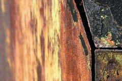 Canto oxidado Imagem de Stock Royalty Free