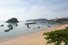 Canto plaża w Buzios Fotografia Royalty Free