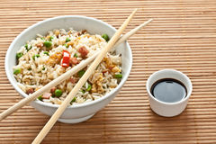 Canton chinese rice Royalty Free Stock Image