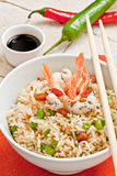 Canton chinese rice Royalty Free Stock Photo