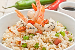 Canton Chinese Rice Royalty Free Stock Photography