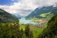 Canton de Fribourg, Suisse Photos stock